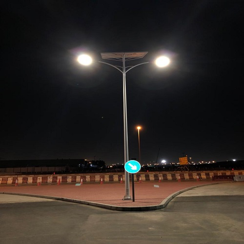COBRA Waterproof solar street light project-Mexico