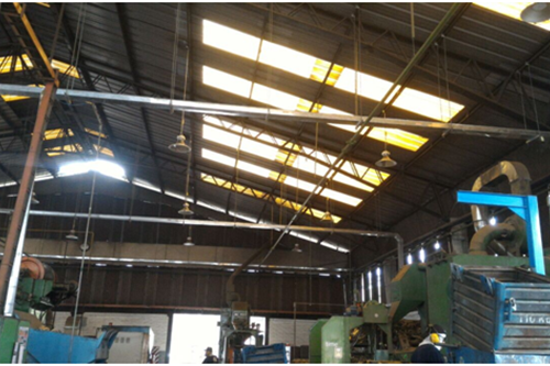 LED High Bay lights successfully installed in ECUADOR